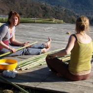 brulage des bambous